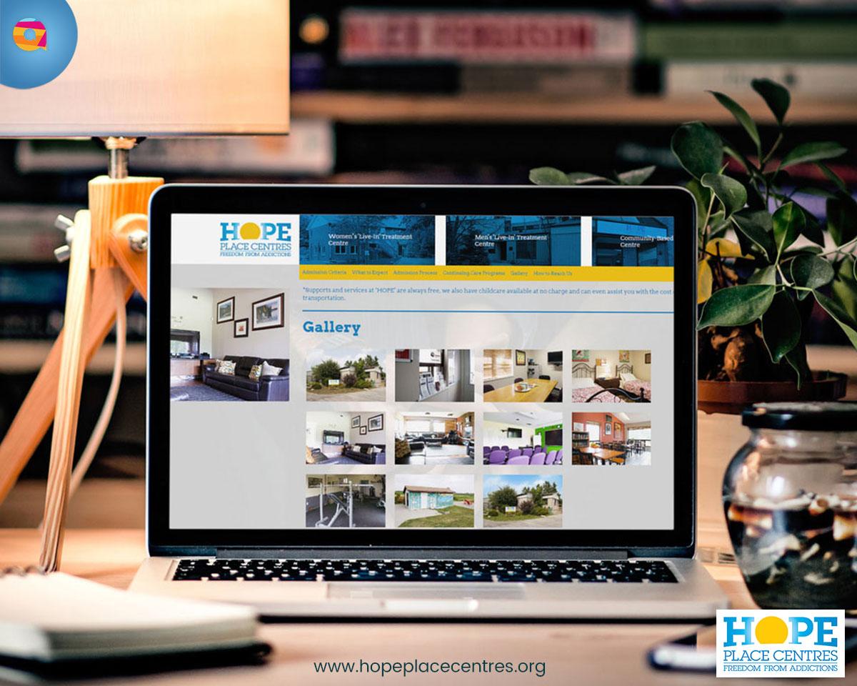 Hope place centres drupal website