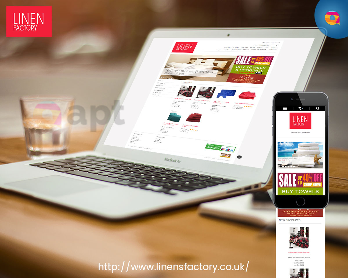 Linen Factory online store