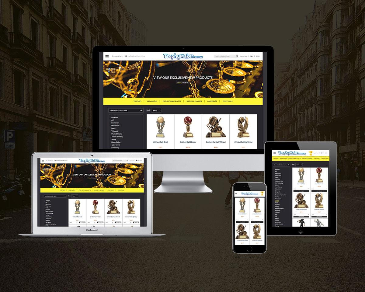 Trophy Maker Web Development
