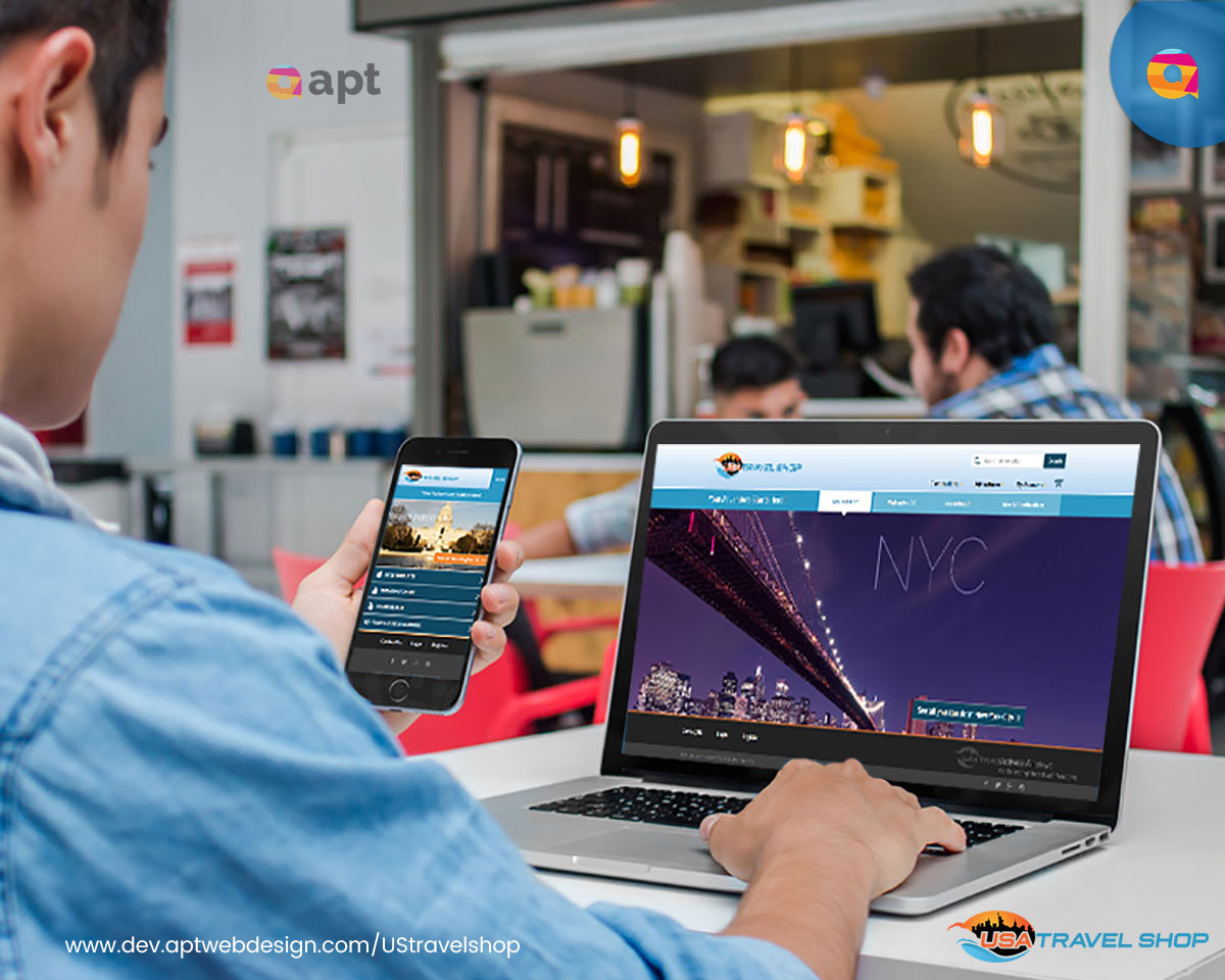 USA Travel Shop Magento Website